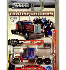 Hasbro Transformers Metal Heroes Series Optimus Prime 18 Wheels Truck Cab Cyber Series