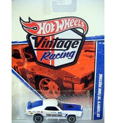 Hot Wheels Vintage Racing - Ed Terry's Ford Drag Team 1970 Ford Mustang NHRA Race Car