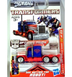 Hasbro Transformers Metal Heroes Series Optimus Prime 18 Wheels Truck Cab