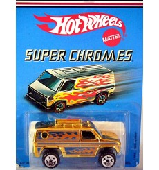 Hot Wheels Super Chromes Series - Baja Breaker 4x4 Van
