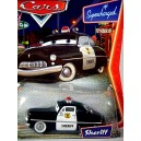 Disney Cars  Series 1 - Sheriff - 1949 Mercury Club Coupe Police Car