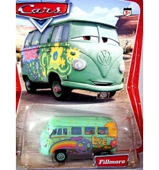Disney Cars Series 1 - Filmore - Volkswagen Type 2 Microbus - George Carlin