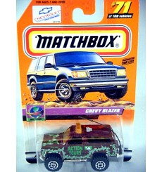Matchbox 2000 Millennium Logo Chase Series - Chevy Blazer Action Tours