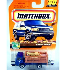 Matchbox 2000 Millennium Logo Chase Series - Dodge Cattle Truck