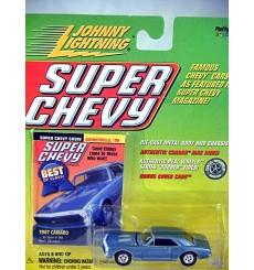 Johnny Lightning Super Chevy Magazine - 1967 Chevrolet Camaro