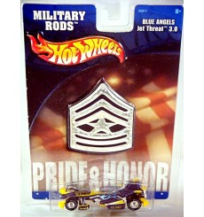 Hot Wheels Military Rods - US NAVY Blue Angels Jet Threat
