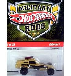 Hot Wheels Military Rods - Dune Buggy - Enforcer