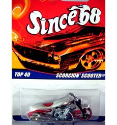 Hot Wheels Since 68 Scorchin Scooter Motorcycle