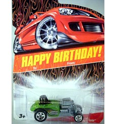 Hot Wheels Happy Birthday - NHRA Altered Roadster