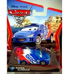 Disney Cars 2 Series - Raoul Caroule - Citroen C3 WRC Rally Car - Sebastian Loeb