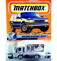 Matchbox 2000 Millennium Logo Chase Series - Airport Food Service Scissors Truck