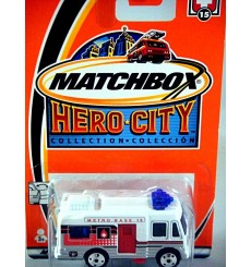 Matchbox Hero City Logo Chase Series - Metro Alarm Ambulance