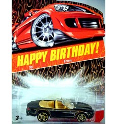 Hot Wheels Happy Birthday Series - Jaguar XK8 Convertible
