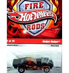 Hot Wheels Fire Rods - Dodge Challenger - Rodger Dodger