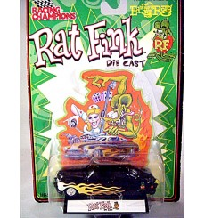 Racing Champions Rat Fink Series - Custom Mercury Lead Sled - Merc Coupe with Flame Job