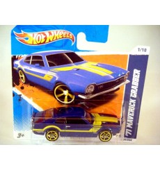 Hot Wheels - Stunning 1971 Ford Mustang Grabber Muscle Car