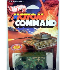 Hot Wheels Action Command - Combat Medic Step Van Ambulance