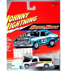 Johnny Lighting Rebel Rods - Chevrolet Silverado Pickup Truck