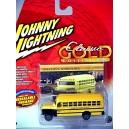 Johnny Lighting Classic Gold - 1956 Chevrolet School Bus