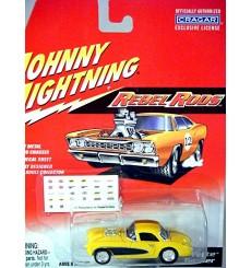 Johnny Lighting Rebel Rods - 1957 Chevrolet Corvette Gasser