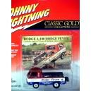Johnny Lightning Classic Gold - Dodge A-100 Dodge Fever NHRA Pickup Truck