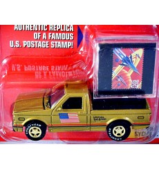 Johnny Lightning - American Truck & Stamp Series - 1991 GMC Syclone Pickup Truck