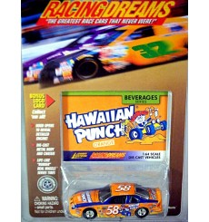 Johnny Lightning Racing Dreams - 1997 Pontiac Grand Prix Hawaiian Punch NASCAR Stock Car