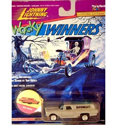 Johnny Lightning Wacky Winners - Bad News - 1960 Chevrolet Sedan Delivery