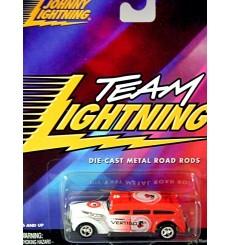 Johnny Lightning - Team Lighting - Alfred Hitchcock Vertigo Hot Rod Ambulance