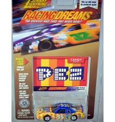 Johnny Lightning Racing Dreams - PEZ Chevrolet Monte Carlo NASCAR Stock Car