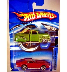 Hot Wheels 2-Pack - Chevrolet Set with La Trocca 50's Chevy Pickup Lowrider and 69 Corvette Coupe