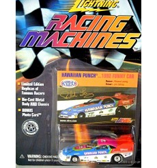 Johnny Lightning Racing Machines - Roland Leong's 1994 Dodge Daytona Hawaiian Punch Funny Car