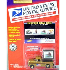 Johnny Lightning - American Truck & Stamp Series - 1955 Chevrolet Cameo Post Office Truck
