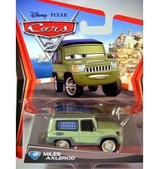 Disney Cars 2 Series - Miles Axlerod Land Rover Range Rover