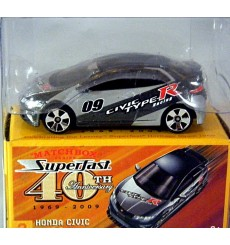 Matchbox Superfast 40th Anniversary - Honda Civic Type R