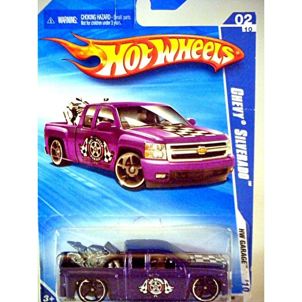Hot Wheels - Chevrolet Silverado Crew Cab Pickup Truck ...