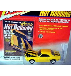 Johnny Lightning Popular Hot Rodding Magazine – 1969  Chevrolet Camaro