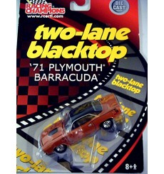 Racing Champions - Two Lane Blacktop Series - 1971 Plymouth Barracuda