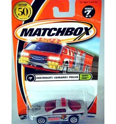 Matchbox - 50th Anniversary Logo Chase Car -McGruff The Crime Dog Chevrolet Camaro Police Car