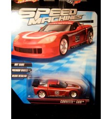 Hot Wheels Speed Machines Chevrolet Corvette C6R