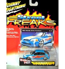 Johnny Lightning Street Freaks Import Heat - 00 Honda Civic Tuner