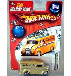 Hot Wheels 2006 Holiday Rods - Dairy Delivery Holiday Hauler Divco Milk Truck
