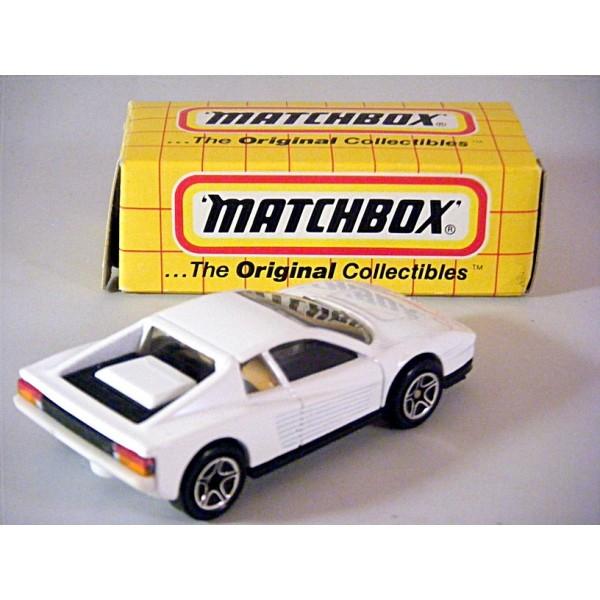 Matchbox 75g, Ferrari Testarossa - Free Price Guide #3938