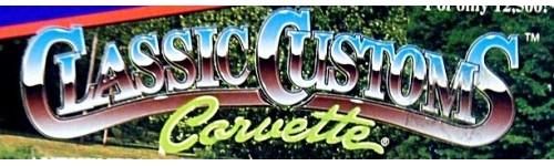 Classic Customs Corvette