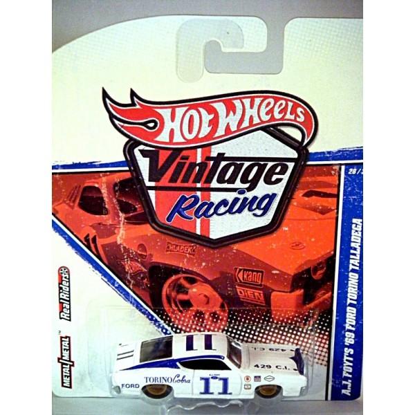 New Ford Torino >> Hot Wheels Vintage Racing AJ Foyt 1969 Ford Torino Talladega - Global Diecast Direct
