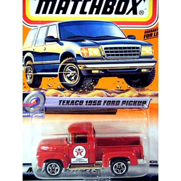 Matchbox 1956 Ford F-100 Texaco Pickup Truck