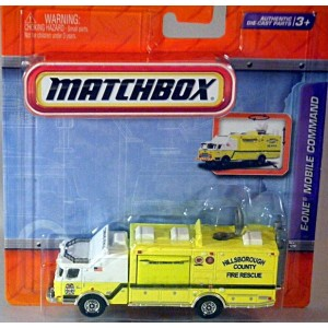 Chevrolet Truck Models >> Matchbox Working Rigs - E-One Mobile Command Fire Truck - Global Diecast Direct