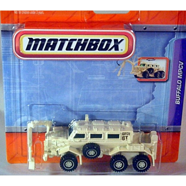 Matchbox Working Rigs Force Protection Buffalo Military
