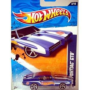 Hot Wheels - 1969 Pontiac GTO