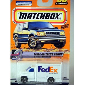 Matchbox - FedEx Ford Box Truck - Global Diecast Direct